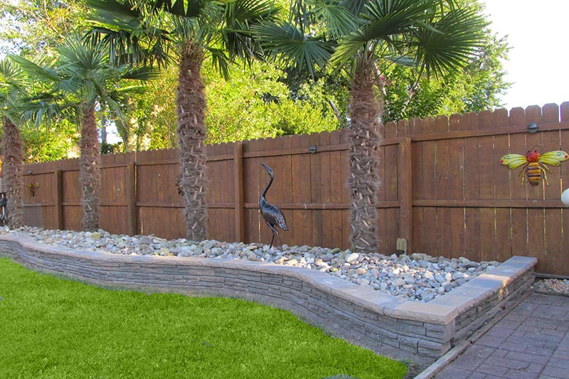 Retaining Wall Design Ideas - Quiet Corner on Backyard Wall Design id=87274