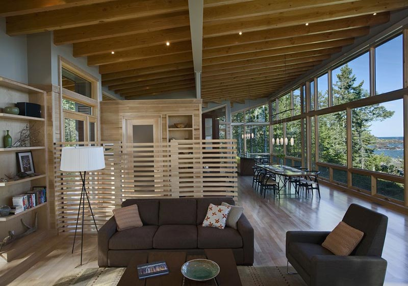 The Eagle Harbor Cabin by Finne Architects