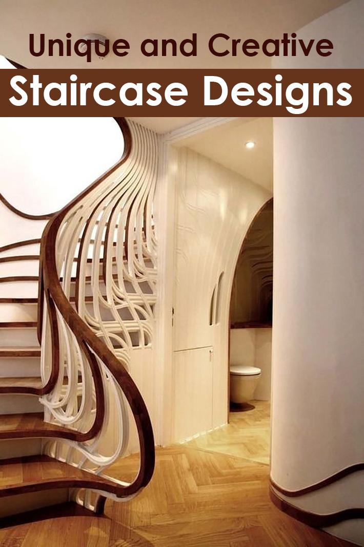 Unique and Creative Staircase Designs - Quiet Corner