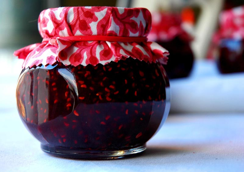 Wicked Easy Raspberry Jam Recipe