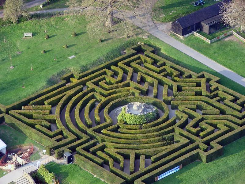 8 Breathtaking Garden Mazes
