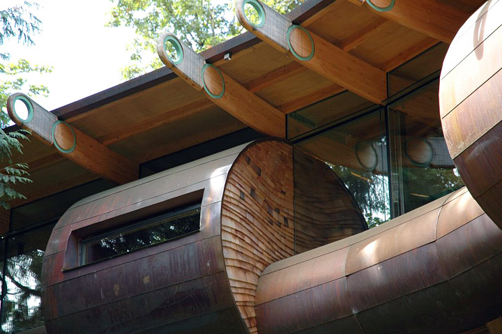 Organic Architecture: Wilkinson Residence Treehouse