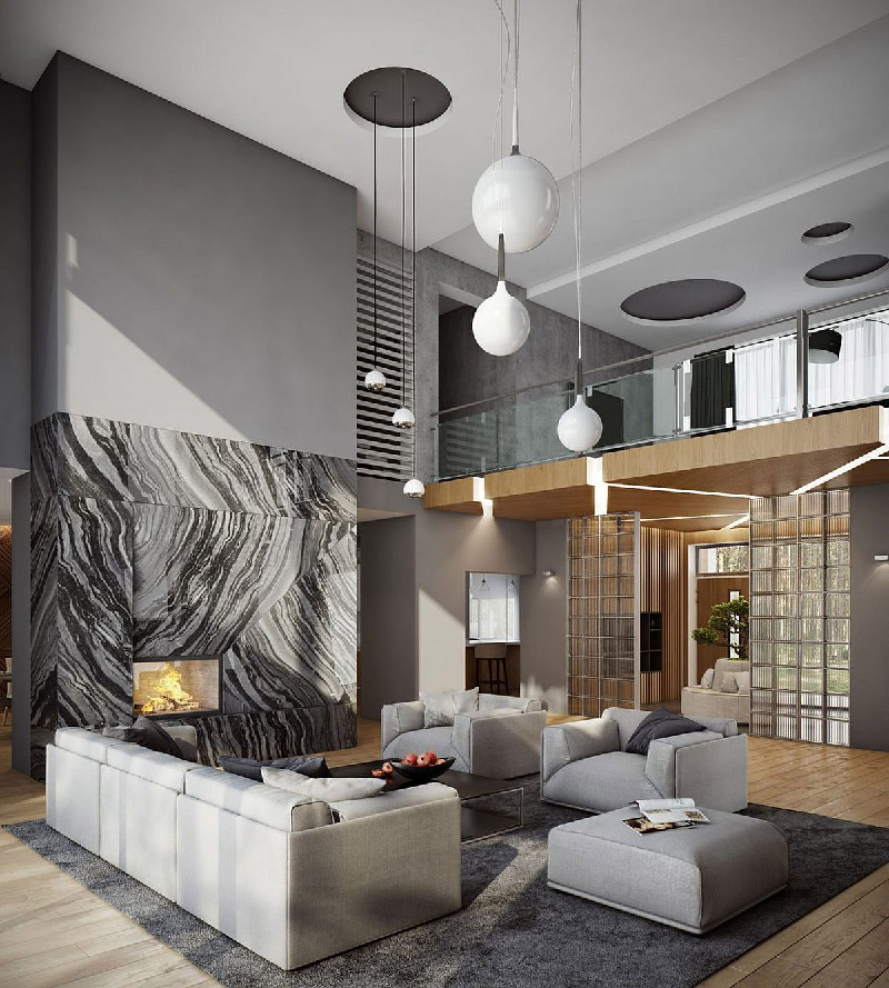 Ultra-Modern Moscow Home Visualized by Buro 108