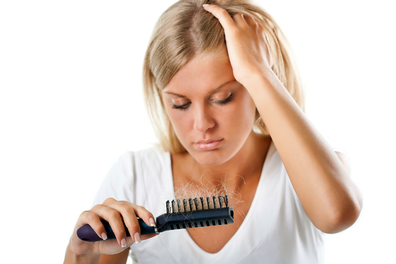 Women and Hair Loss - 8 Reasons Why Hair is Falling Out