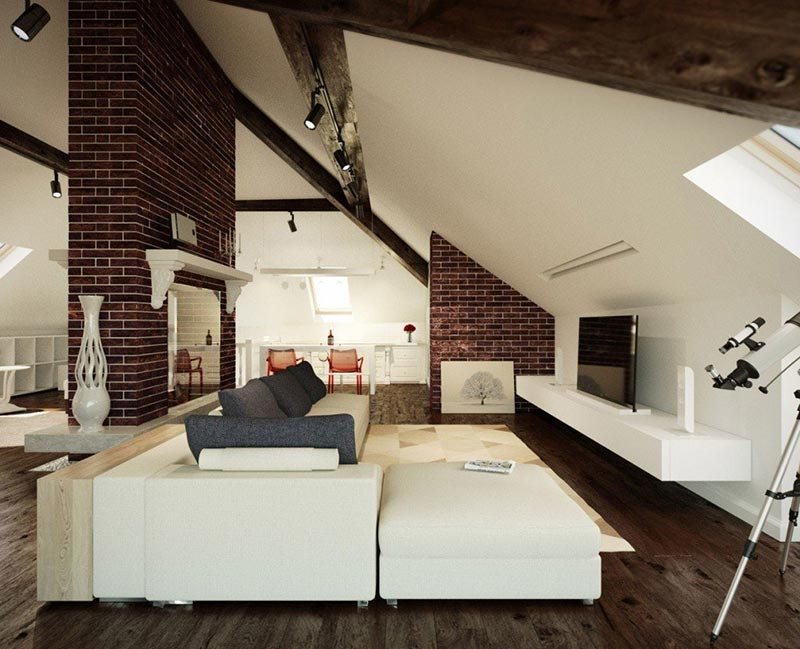 attic space interior design ideas quiet corner