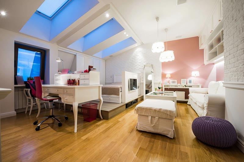 attic space interior design ideas quiet corner