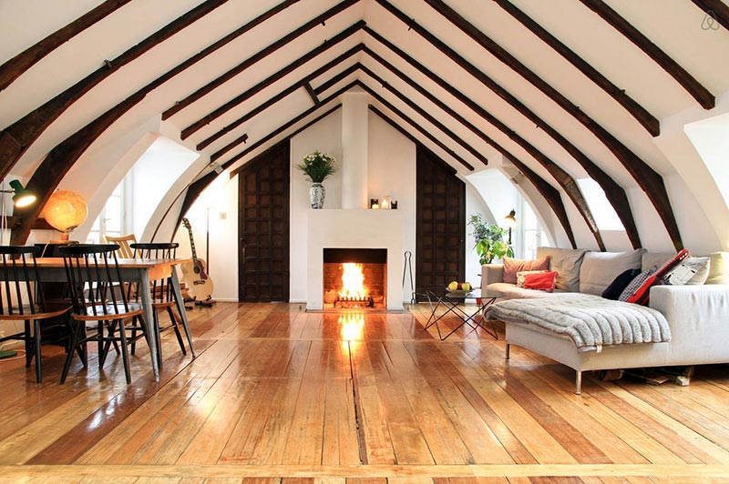 lean to attic space ideas - Attic Space Interior Design Ideas Quiet Corner