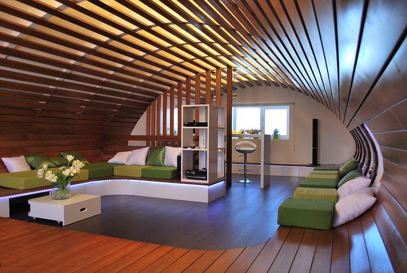 attic construction ideas - Attic Space Interior Design Ideas Quiet Corner