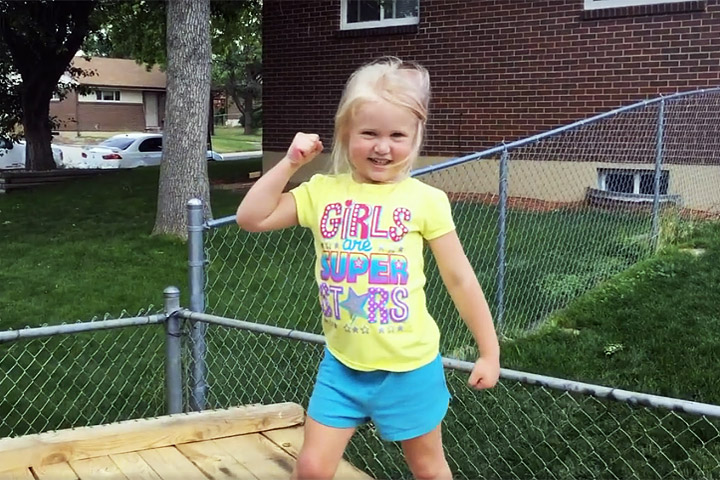 Dad Builds 'American Ninja Warrior' Course for 5-Year-Old Daughter