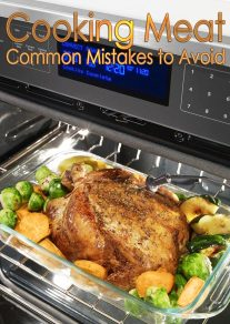 Cooking Meat - 8 Common Mistakes to Avoid
