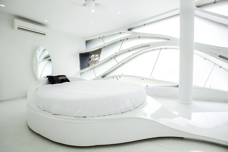 Futuristic Elastica Residence by Cadence Architects