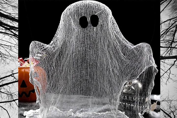 Halloween Spooky Ghost DIY