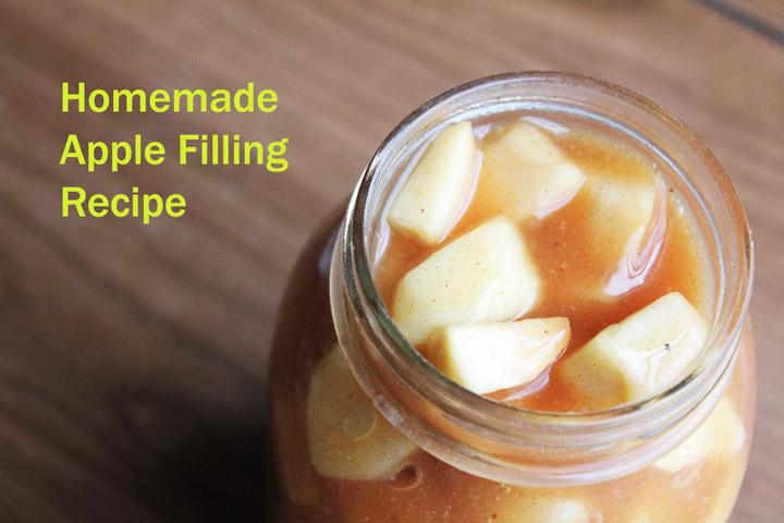 Homemade Apple Filling Recipe