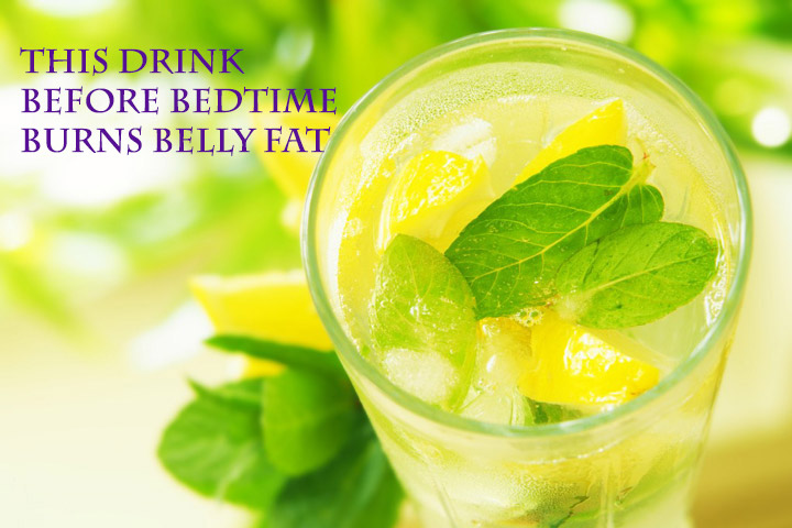 This Drink Before Bedtime Burns Belly Fat