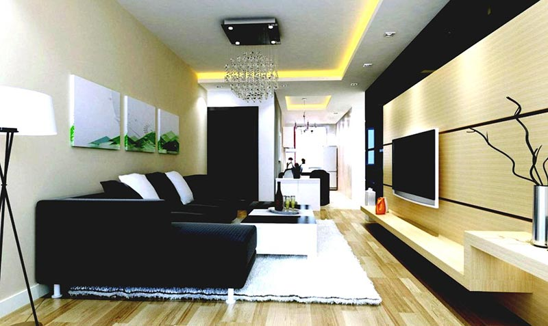 Minimalist living room design quiet corner for Minimalist room decor
