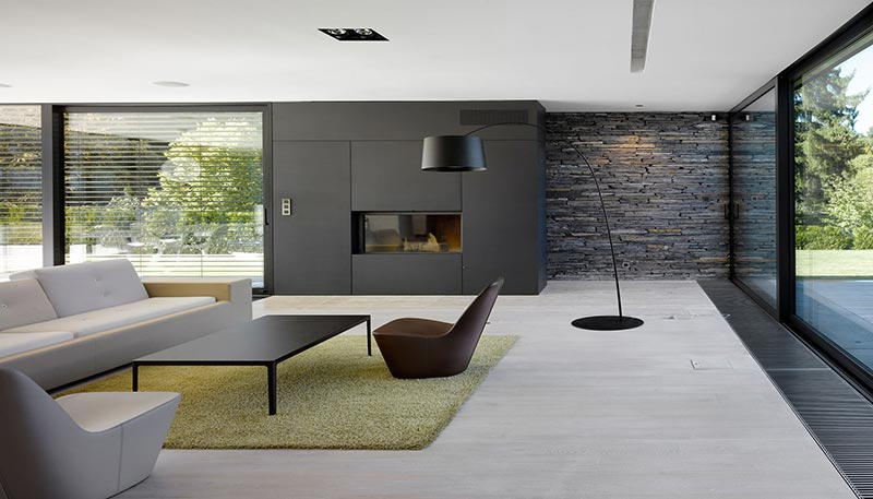 Minimalist living room design quiet corner for Minimalist room design