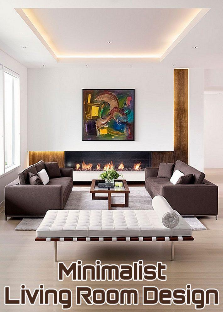 Quiet Corner:Minimalist Living Room Design - Quiet Corner