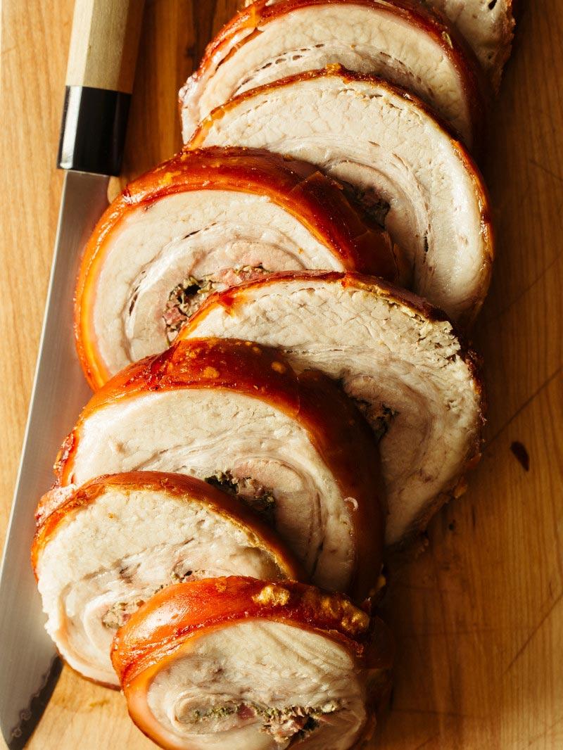 Pork Belly Porchetta Recipe