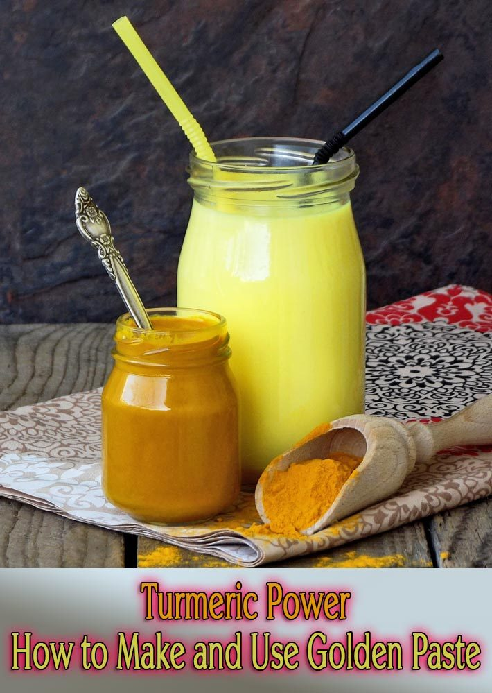 Turmeric Power – How to Make and Use Golden Paste