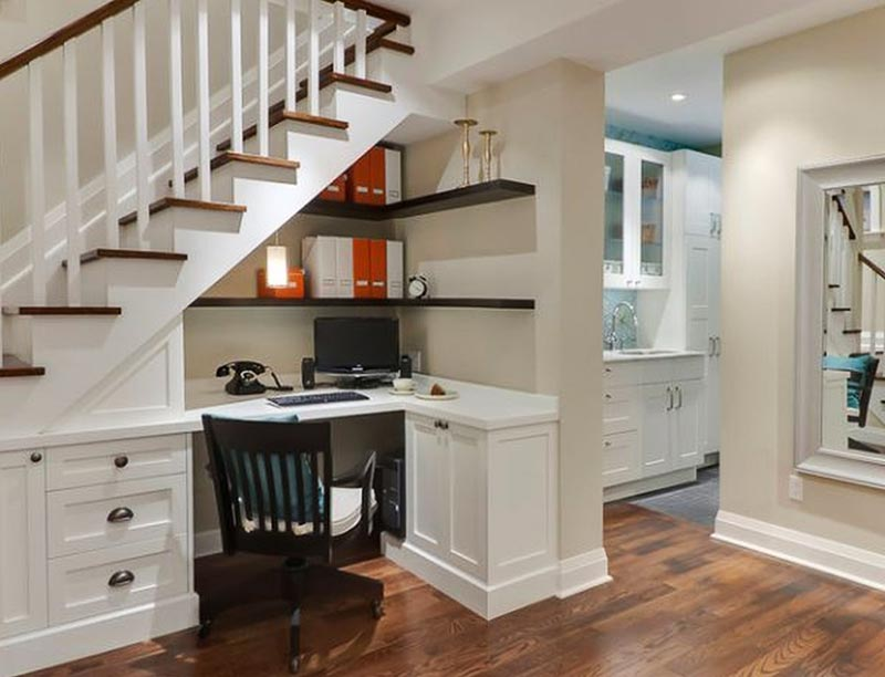 Under Stair Space Clever Ideas - Quiet Corner