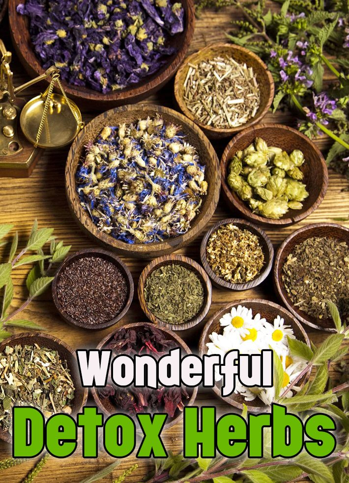 Wonderful Detox Herbs