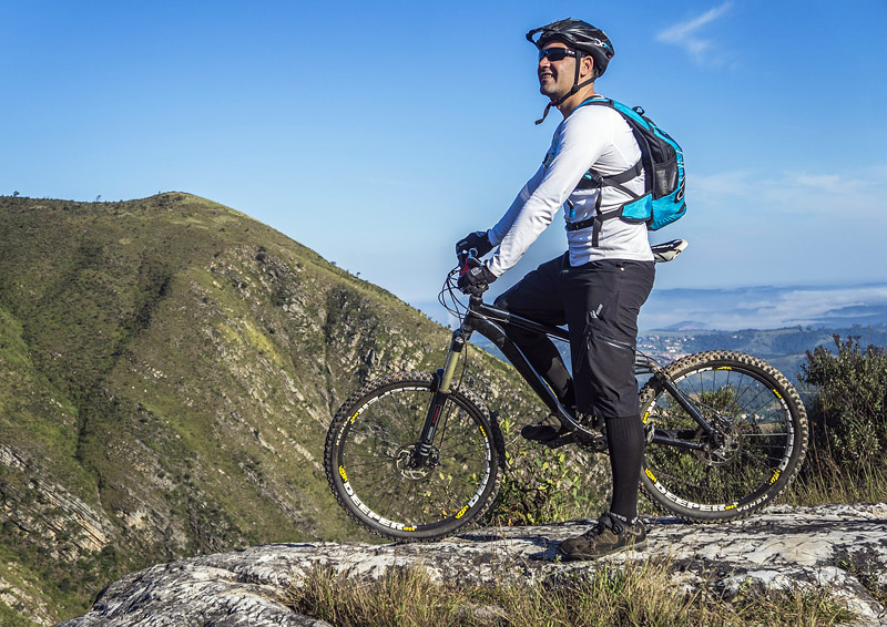 Gain More Confidence While Mountain Biking