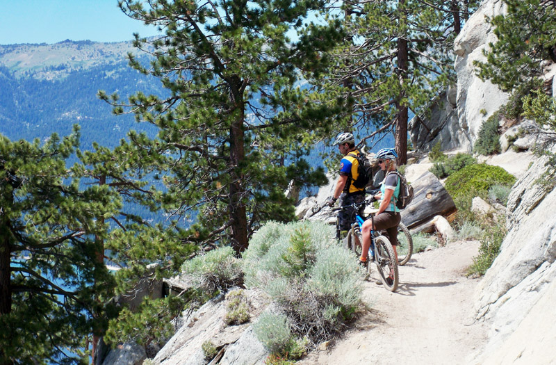 5 Beautiful Mountain Bike Routes in California