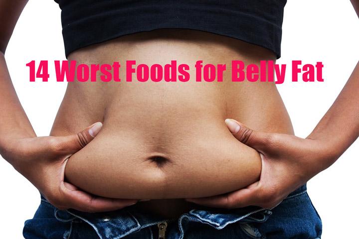 14 Worst Foods For Belly Fat Quiet Corner