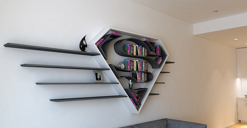 Interior Design - Cool and Creative Bookshelves