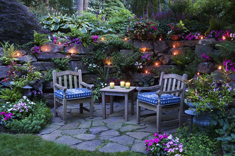 Amazing backyard landscaping ideas quiet corner for Ideas for backyard gardens