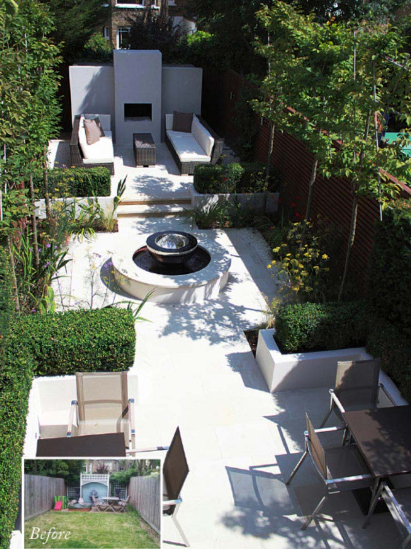 Amazing backyard landscaping ideas quiet corner for Small space backyard ideas
