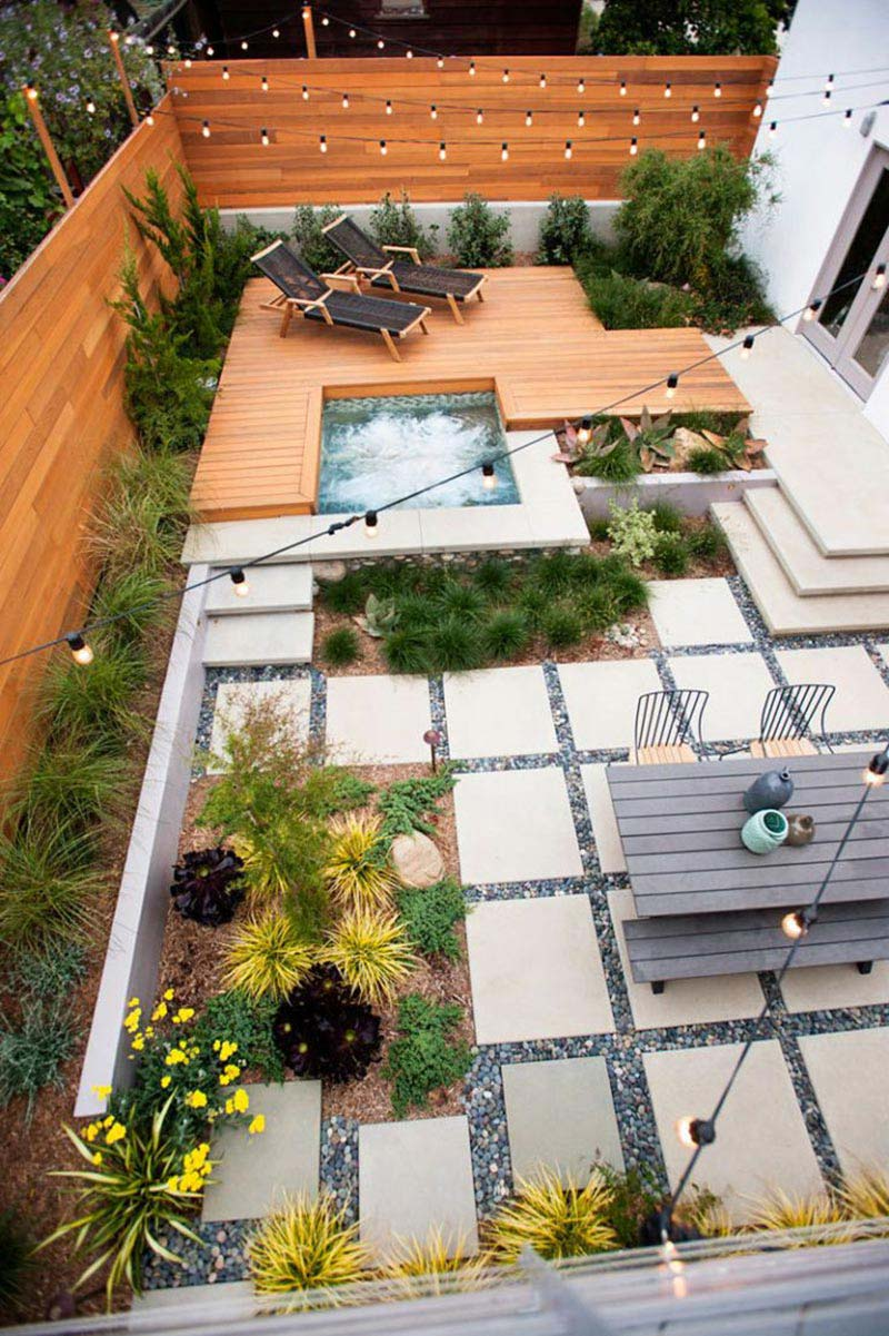 Amazing Backyard Landscaping Ideas - Quiet Corner on Amazing Backyard Ideas id=80333