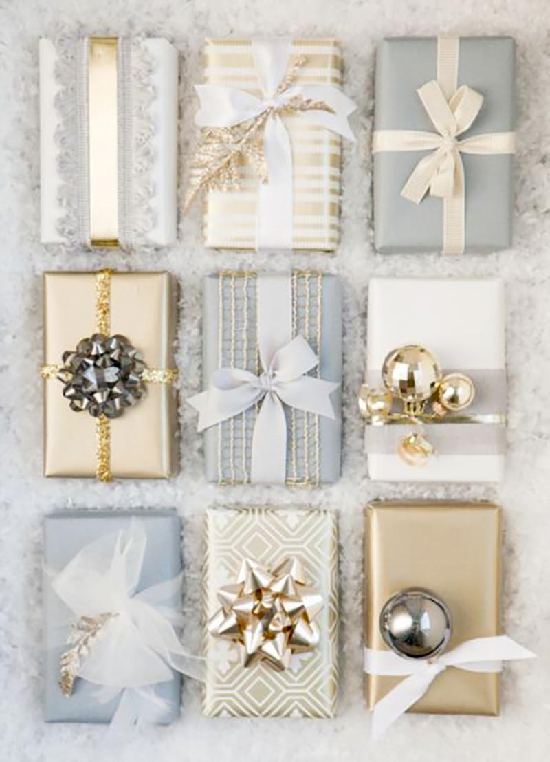Last night I finished my Christmas Shopping and Oh Boy it was crazy out there Now all I have left is wrapping the presents! Today I am bringing you 20 adorable wrapping ideas to make your gifts look fabulous! Enjoy! 1 Use fabric that you already have to wrap your presents. I have done this [ ].