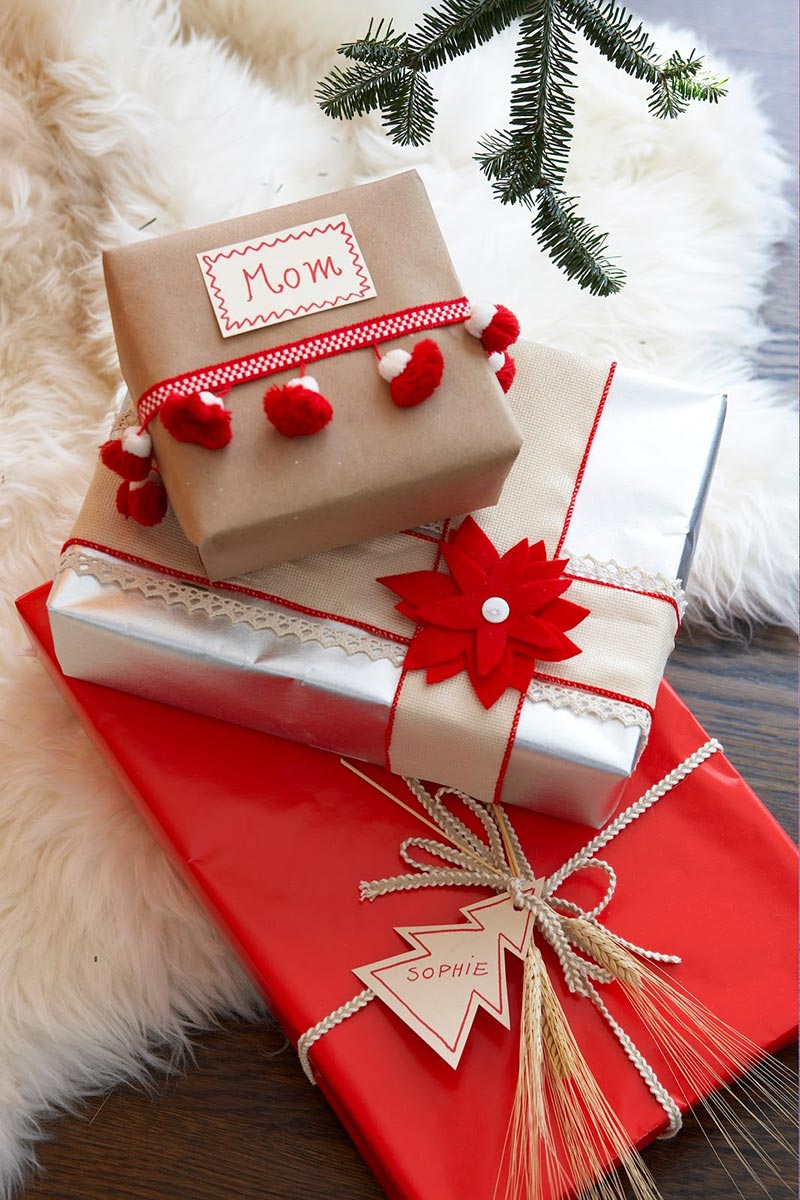 Easy Christmas Gift Wrapping Ideas - Quiet Corner