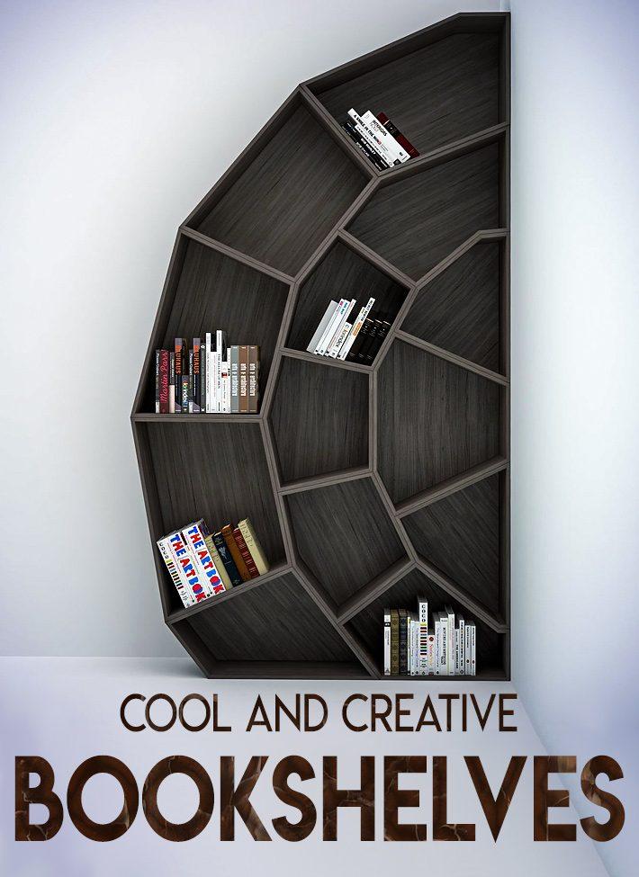 Quiet Corner Interior Design Cool And Creative Bookshelves