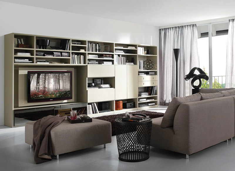 Italian Charisma - Living Room Design Ideas by Tumidei