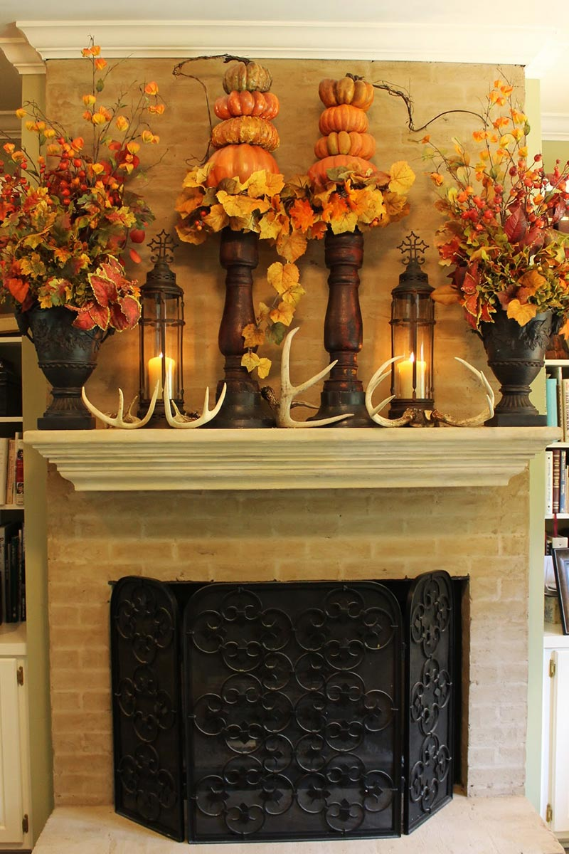 Thanksgiving decorating ideas quiet corner for Thanksgiving home decorations
