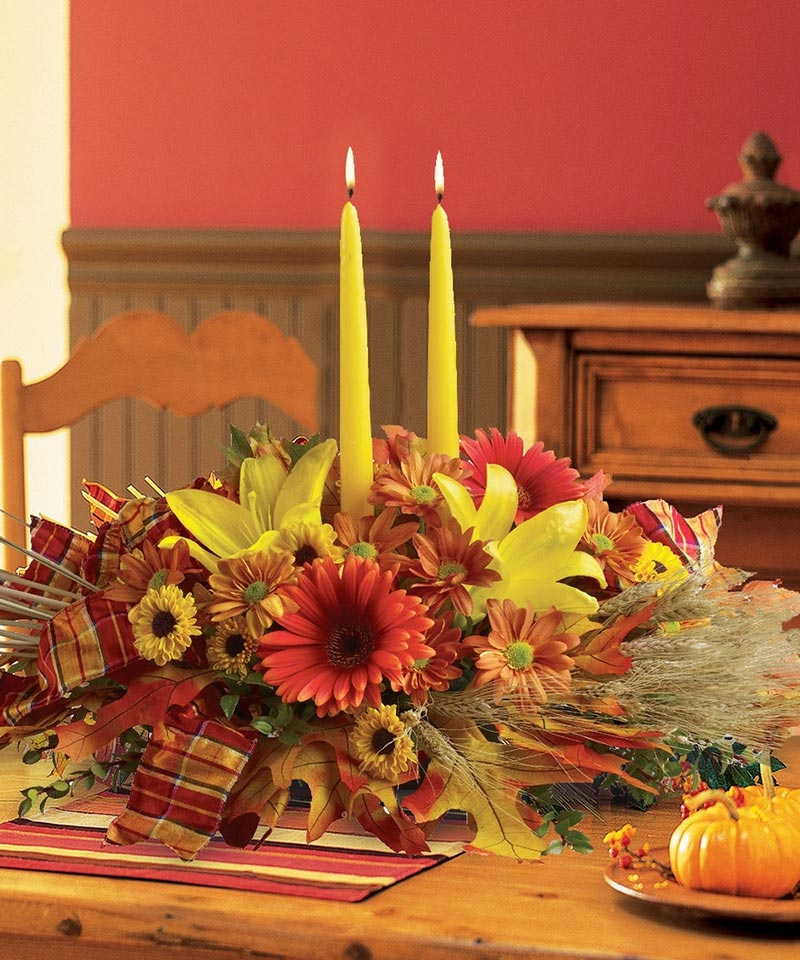 Thanksgiving decorating ideas quiet corner Thanksgiving decorating ideas
