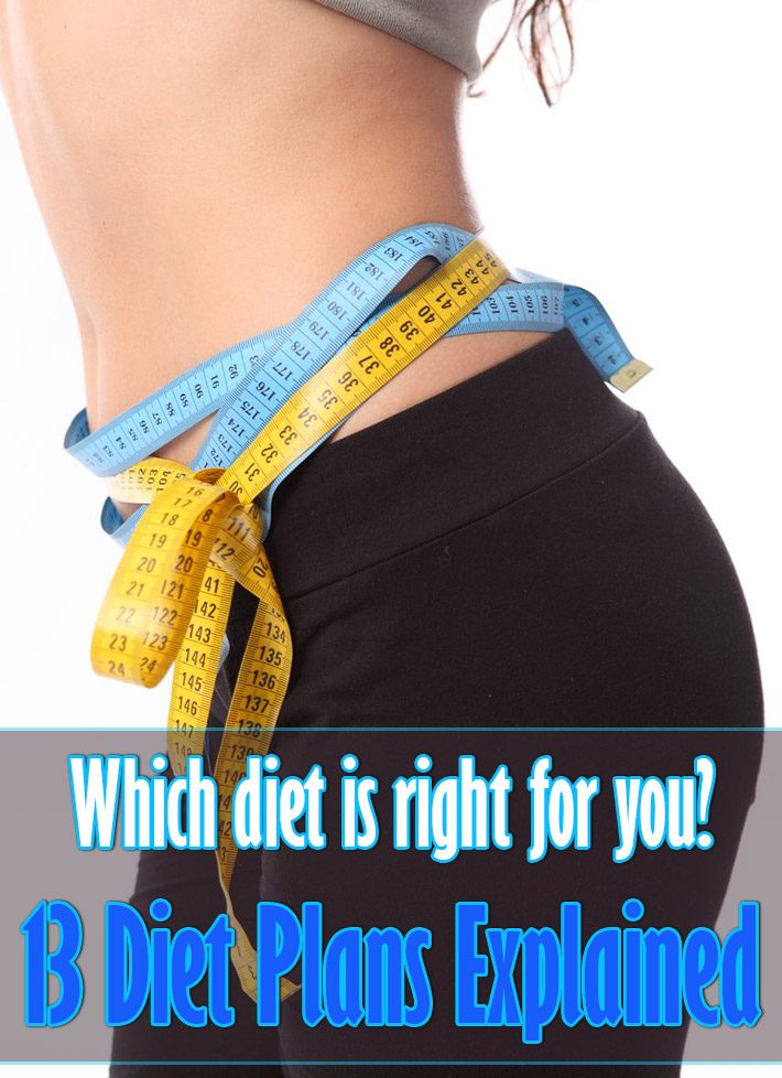 Which diet is right for you? 13 diet plans explained