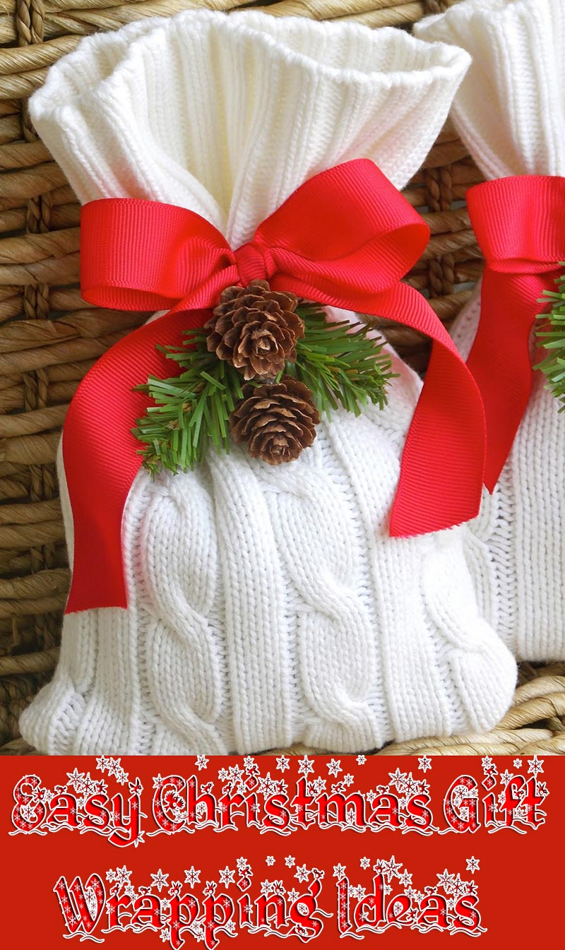 Quiet Corner Easy Christmas Gift Wrapping Ideas Quiet Corner