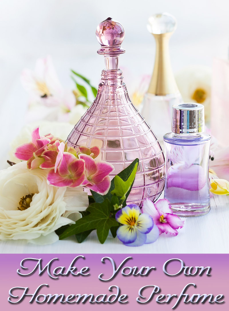 Make Your Own Homemade Perfume with Essential Oils
