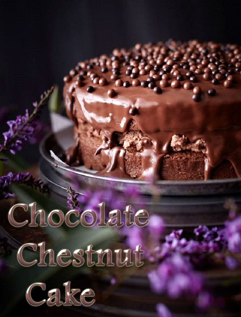 Dessert Recipes – Chocolate Chestnut Cake