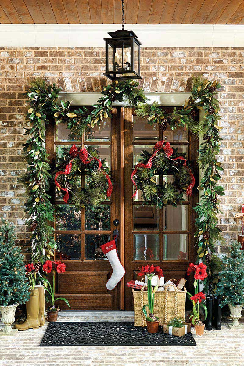 christmas door decorations ebay