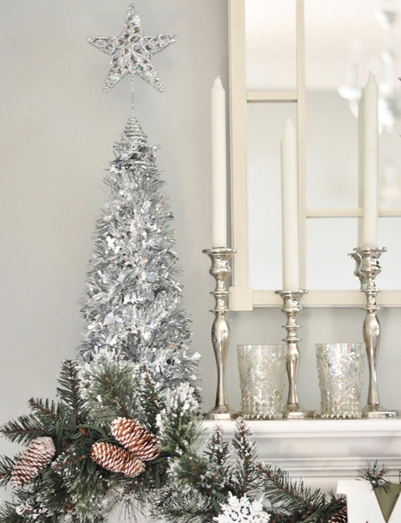 Christmas home decorating ideas quiet corner for Decoration xmas ideas