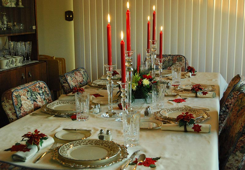 Fabulous ideas and tips for christmas table quiet corner Christmas table dressing