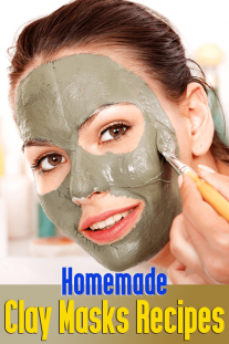 Homemade Clay Masks Recipes