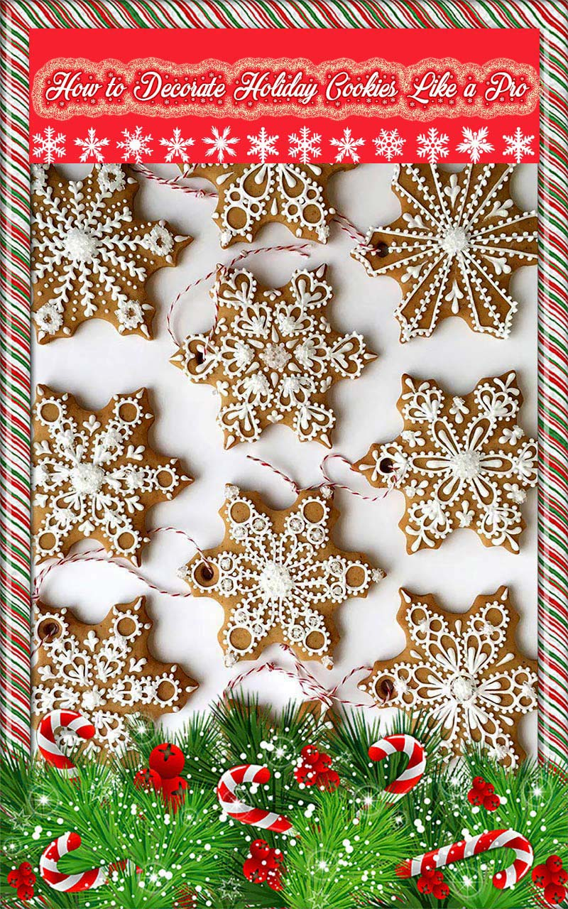 Quiet Corner How To Decorate Holiday Cookies Like A Pro