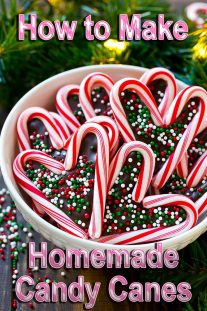 How to Make Homemade Candy Canes