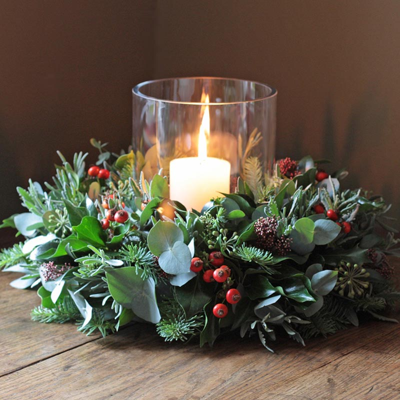 Flower Decor Centerpieces : Ideas for christmas table decorations quiet corner