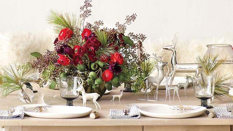 Ideas for Christmas Table Decorations